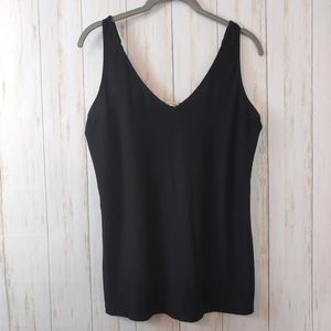 SOMA Black Camisole Tank Top Small